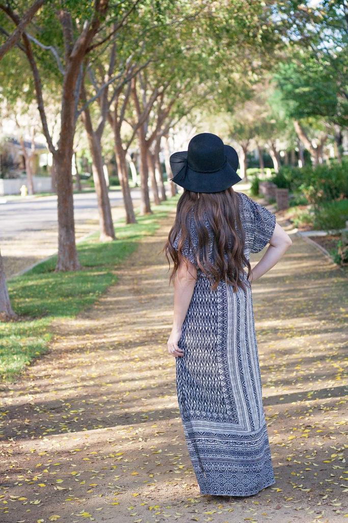 Designer Stitch Gypsy Dress Back