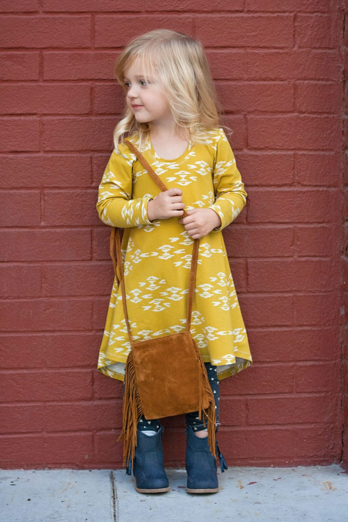 Laela Jeyne Sammy Swing Dress PDF Sewing Pattern.