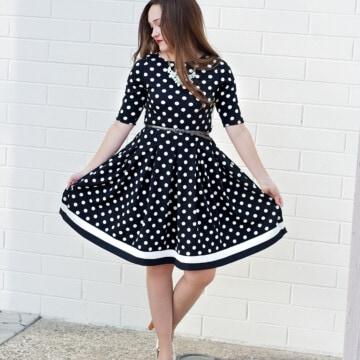 Love Notions Style Maker Fabrics Women's Dress Pattern