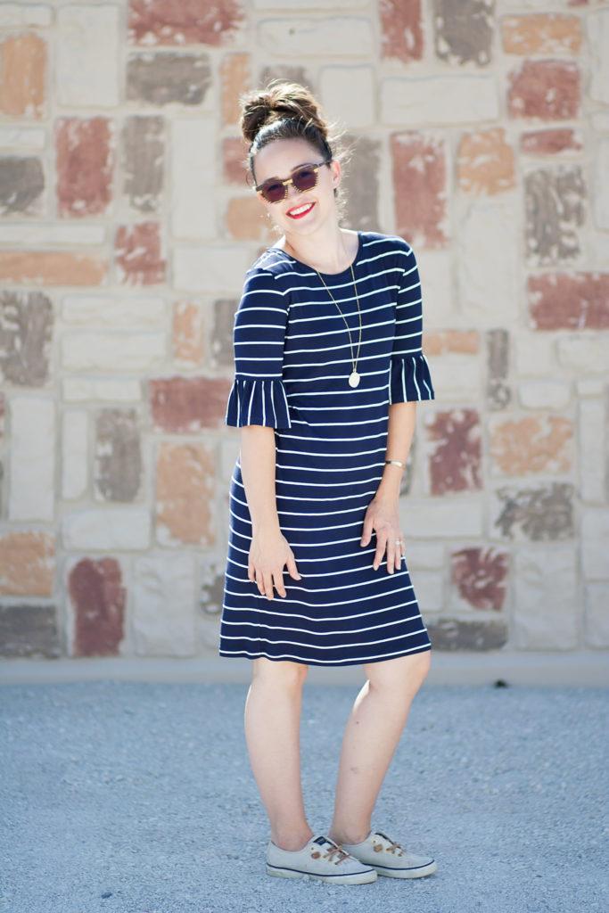 Panama Tee Dress PDF Sewing Pattern Knit Fabric