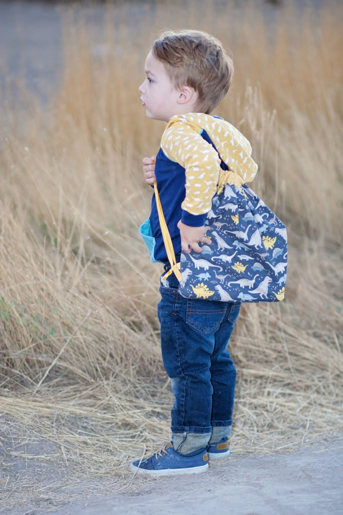 Free Hoodie Sewing Pattern and Drawstring Bag Tutorial