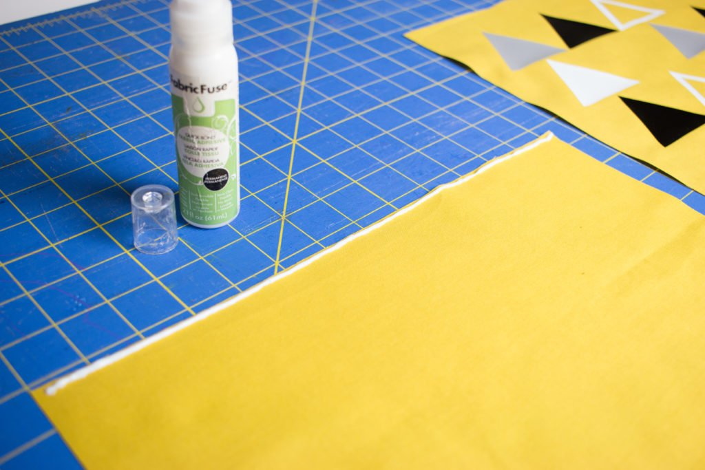 No Sew Pouch Tutorial