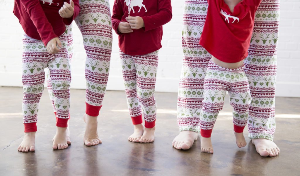 Family Christmas Pajama Patterns and tutorial featured by top US sewing blogger, Sweet Red Poppy