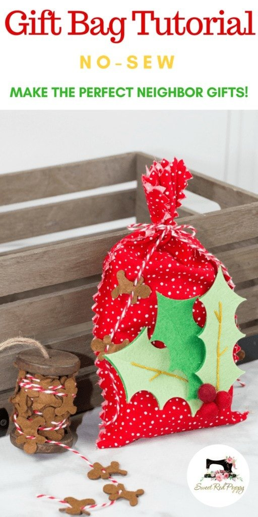 Make Easy Christmas Neighbor Gifts With This Cricut Maker No-Sew Tutorial
