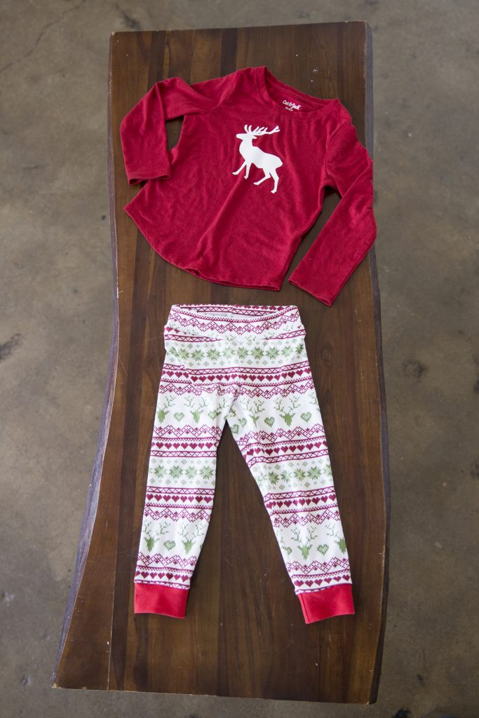 DIY Christmas Pajamas with FREE PDF sewing pattern and cut file