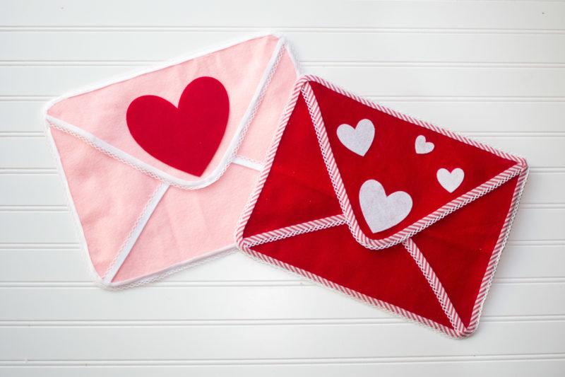 Valentine's Day Chairbacker Envelopes Pottery Barn Inspired Tutorial