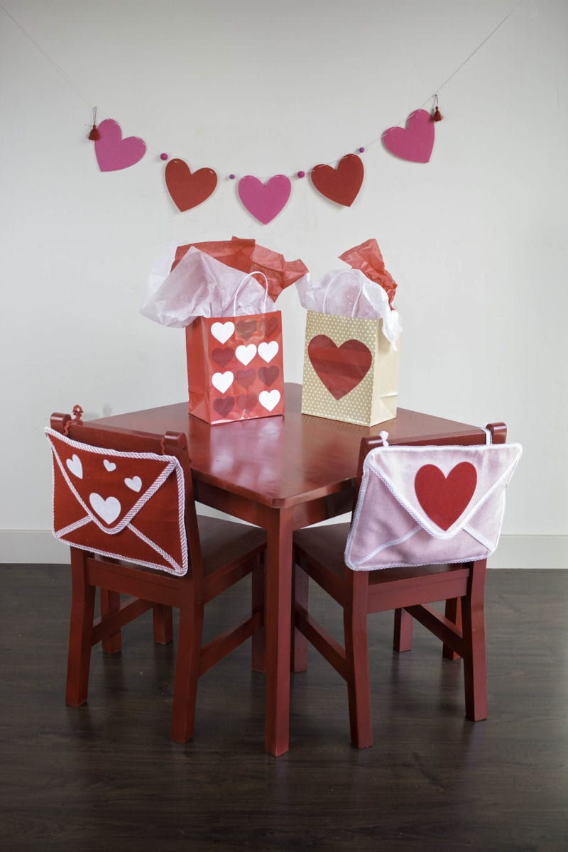 Valentine's Day Felt Envelope Card Tutorial