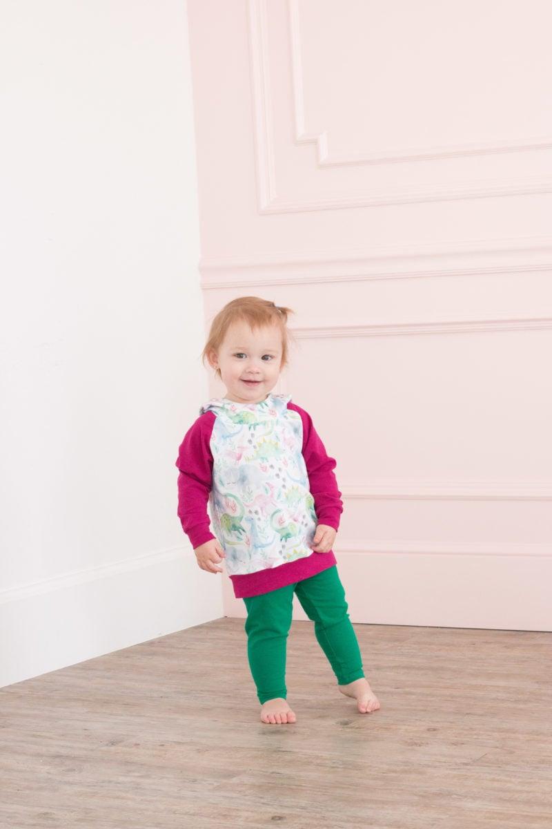 free baby leggings & hoodie sewing patterns