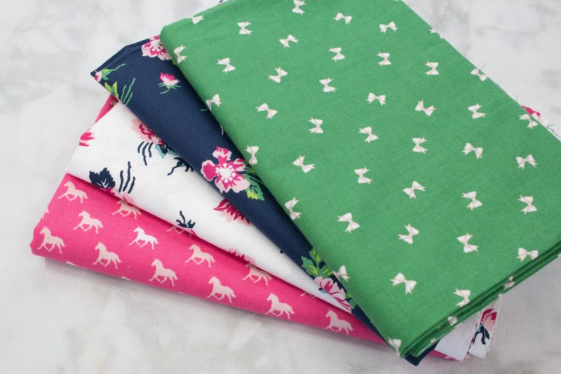 100% woven quilting cotton is a great fabric for learning to sew!