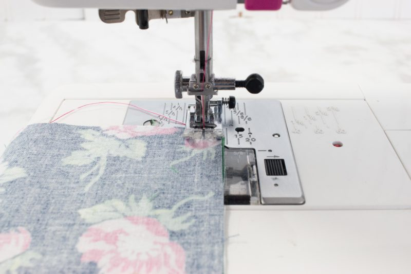 Learn to sew with a 3/8 inch seam allowance.