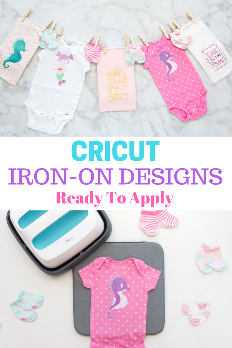 Cricut Iron-On Designs Are Ready To Apply Without A Cutting Machine.