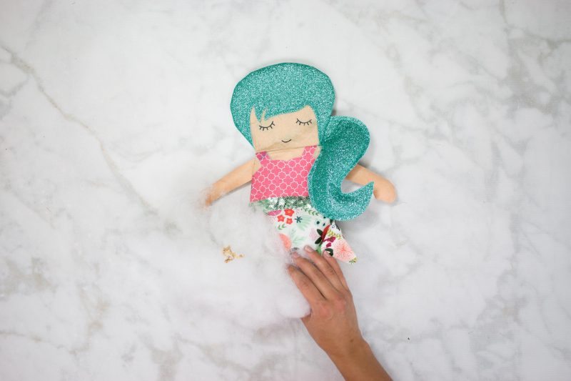 Sew a Mermaid Doll using the Cricut Maker