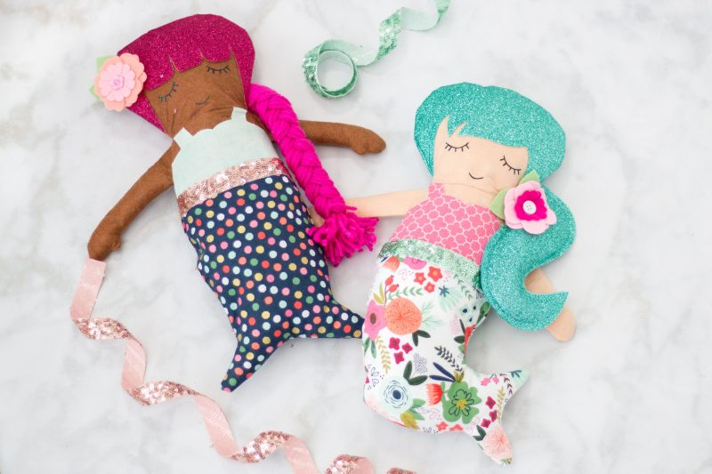 Mermaid Doll PDF Sewing Patterns