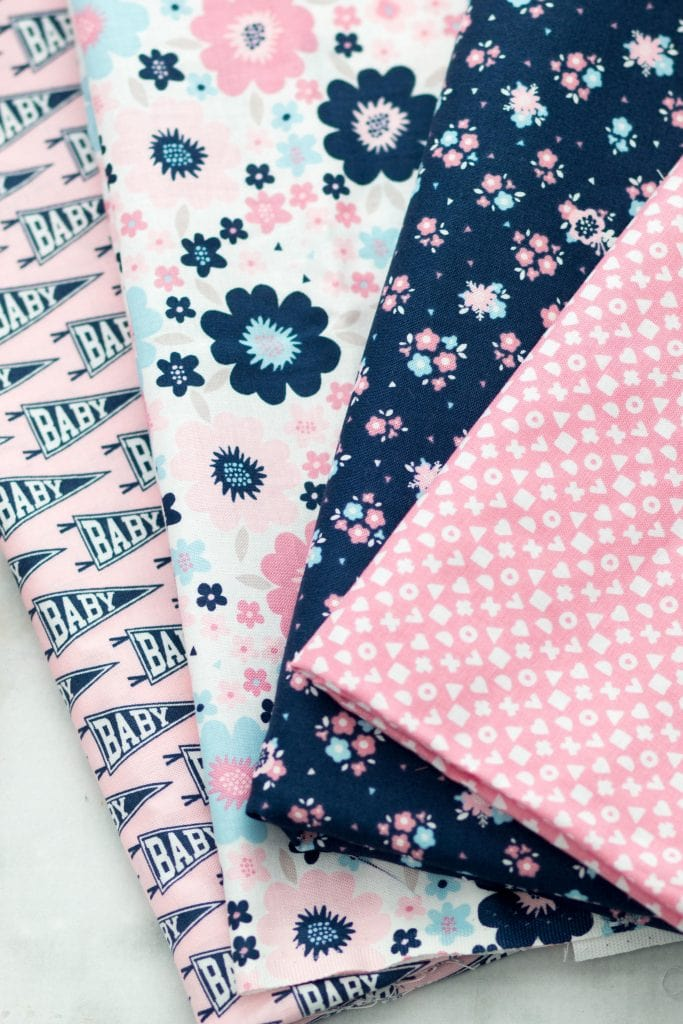 How to Make Bandana Bibs for Babies featured by top US sewing blog, Sweet Red Poppy