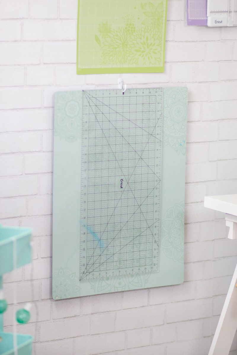 Cricut Craft and Sewing Room Organization Hacks featured by top US craft blog, Sweet Red Poppy