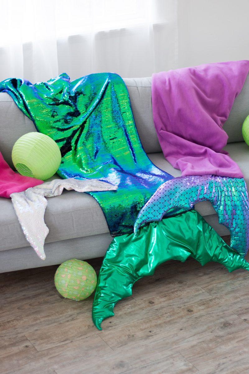 JOANN Fabric Mermaid Blanket Sewing Tutorial