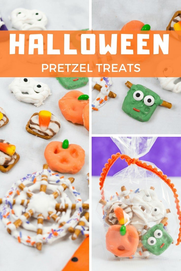 Create Adorable Halloween Pretzel Treats with this Simple Tutorial!