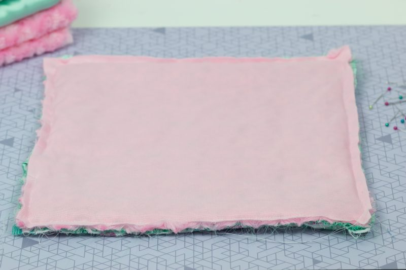 how to sew a lovey blanket
