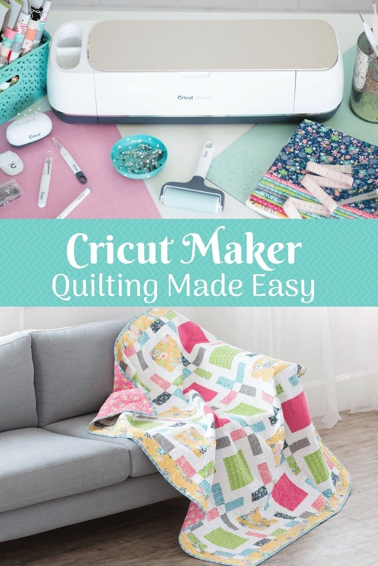 Create a Quilt the Easy Way with the Cricut Maker