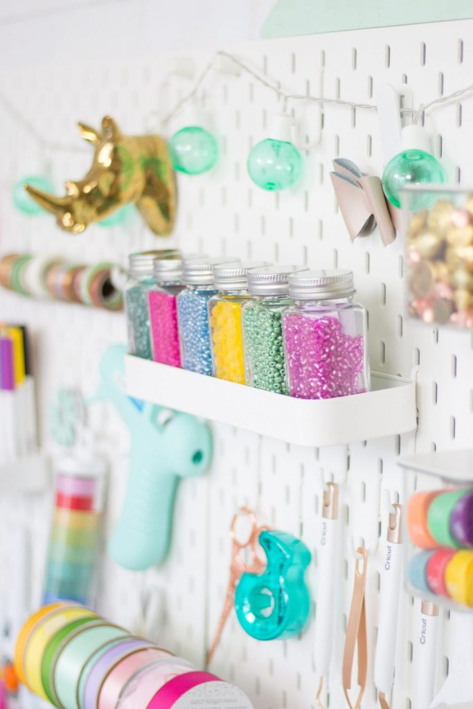 Cute & Functional Craft and Sewing Room Ideas featured by top US craft blog, Sweet Red Poppy: