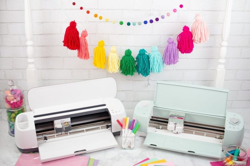 Cricut Maker vs Explore Air 2 reivew: Which Machine to Buy, a review featured by top US craft blog, Sweet Red Poppy.