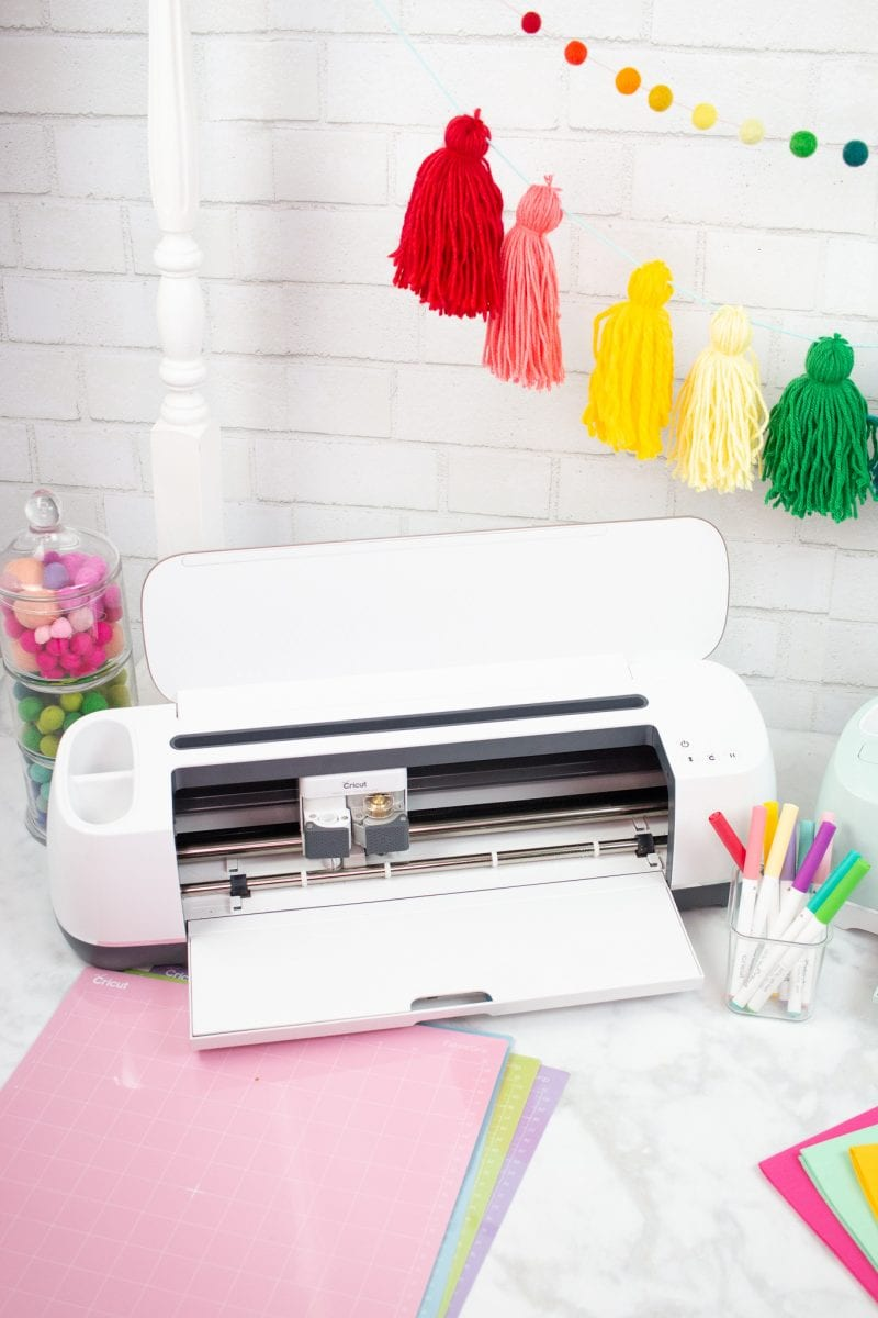 Cricut Maker vs Explore Air 2 review: Which Machine to Buy, a review featured by top US craft blog, Sweet Red Poppy: The Maker cuts over 100 materials quickly and accurately, from the most delicate crepe paper and fabric to tough leather and wood.