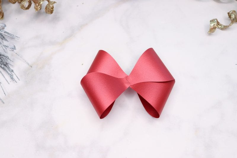 Double Bow SVG Cut File and PDF Download