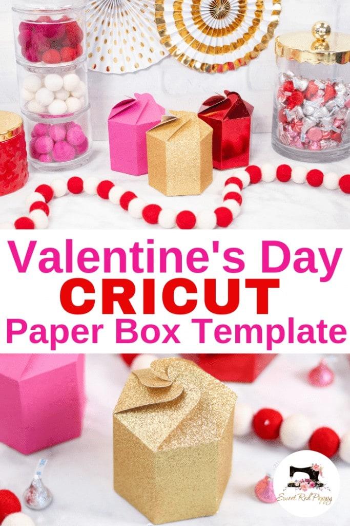 Cricut Paper Box Scoring Wheel Valentines Box
