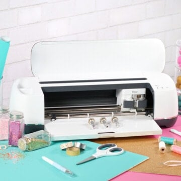 Cricut rotary blade review featured by top US craft blog, Sweet Red Poppy.