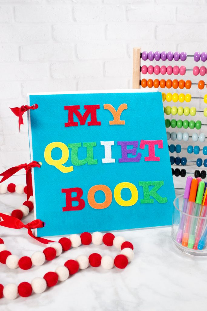 quiet book for toddlers