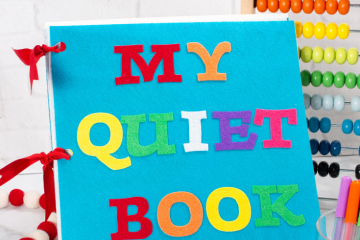 Cricut Maker How to Make a Quiet Book Tutorial with Step by Step Photos and Video.