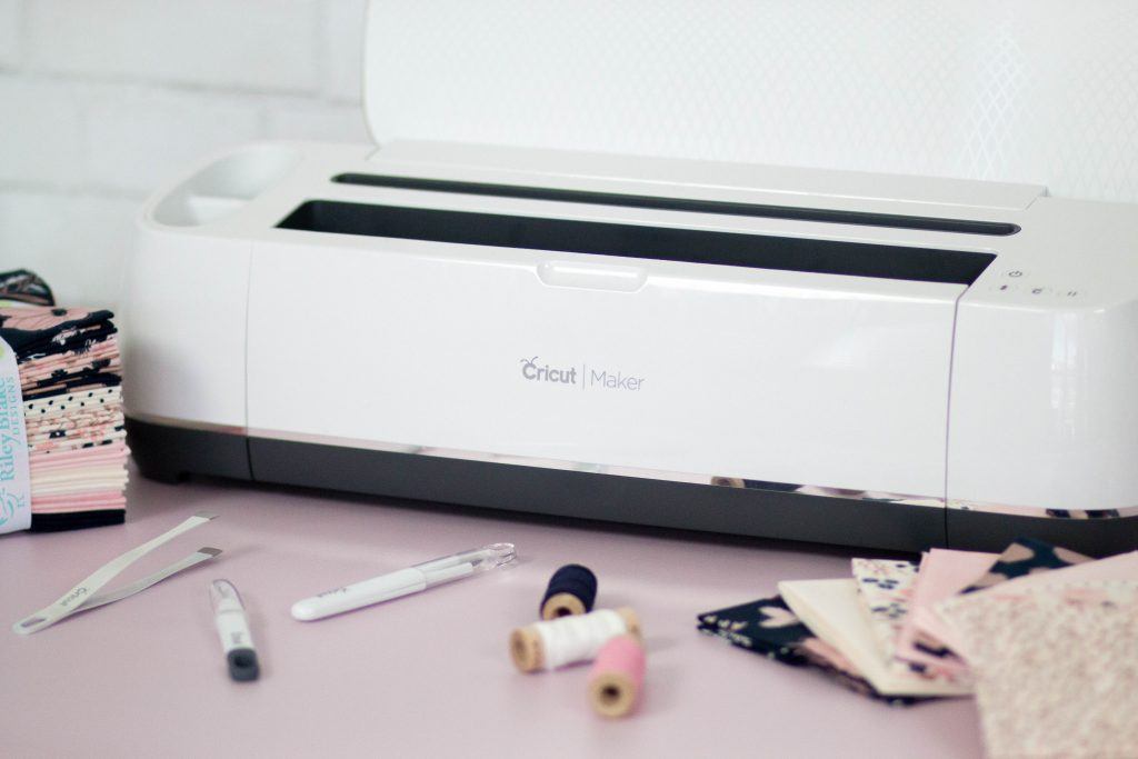 Cricut Maker Cuts Fabric and Sewing Patterns