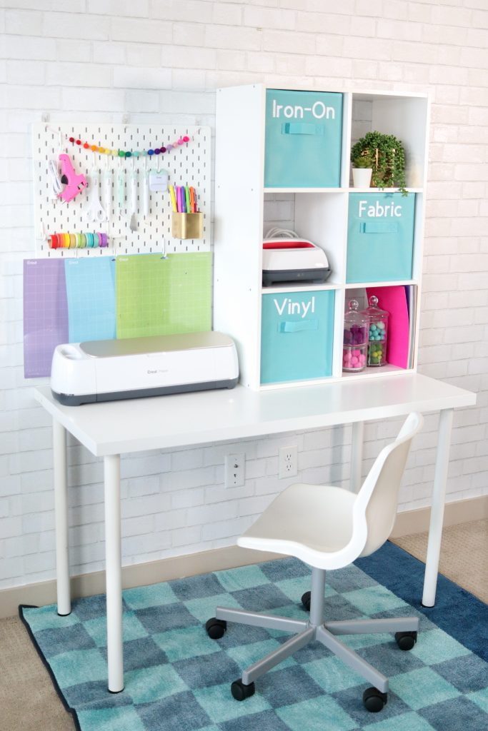 Create A Budget Friendly Compact Crafting Space For Under $100.