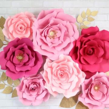 Oversized Paper Flower Tutorial