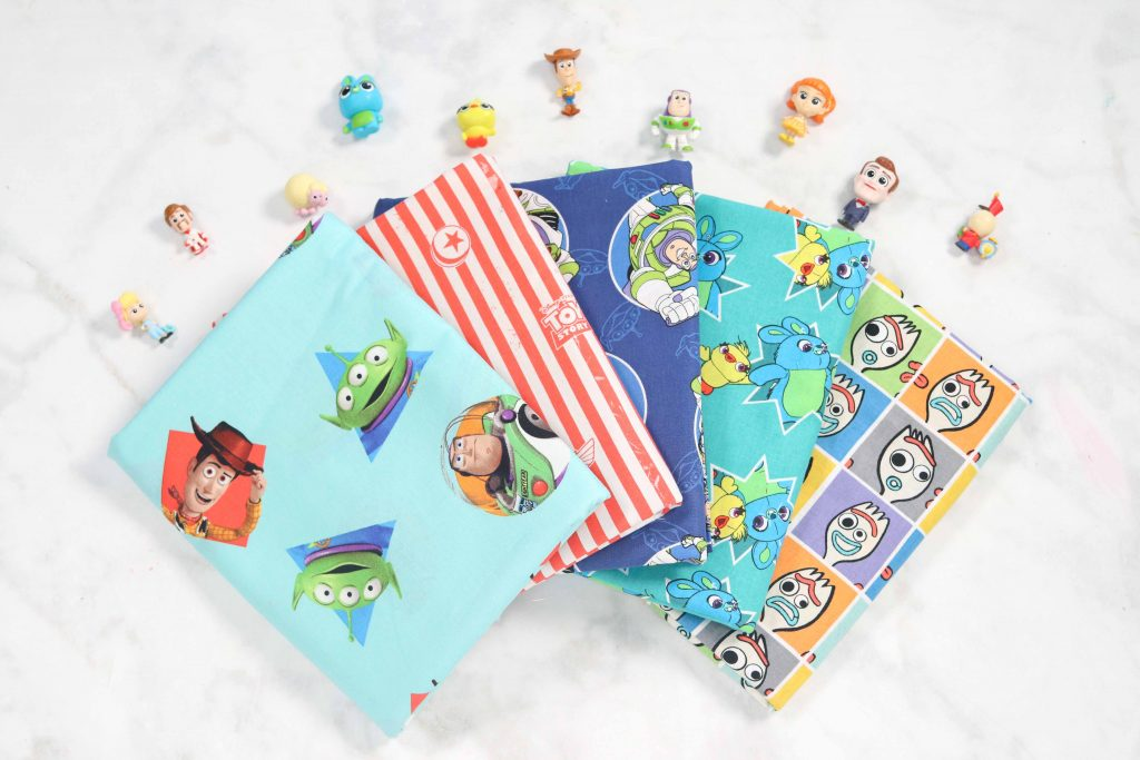 Toy Story 4 Fabric and Sewing Tutorial