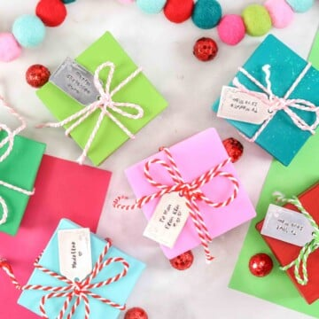 Intro to metal stamping for beginners. Learn how to easily stamp metal and create a holiday gift tag using Impress Art Supplies.