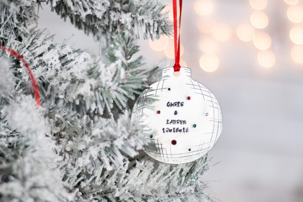 Metal Stamping Holiday Ornaments Impress Art
