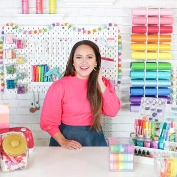 Craft Room Organization Tips and Tricks