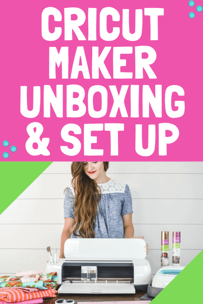 Learn How to Unbox Your Cricut Maker, Walk Through Each Tool, Install Design Space and Create Your Very First Project.