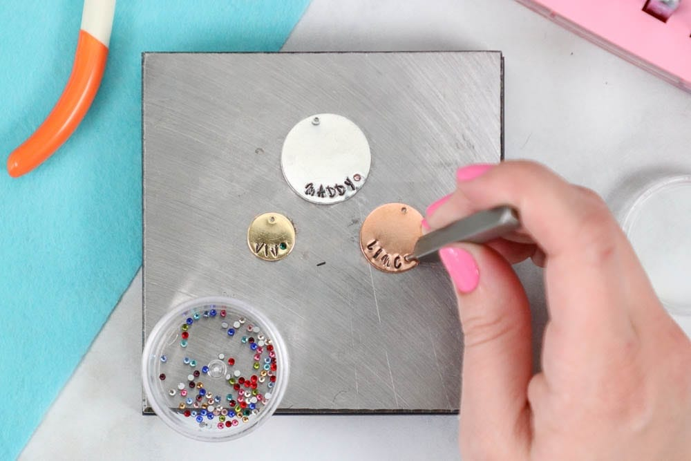 ImpressArt Metal Stamping for Beginners, a tutorial featured by top US craft blog, Sweet Red Poppy.