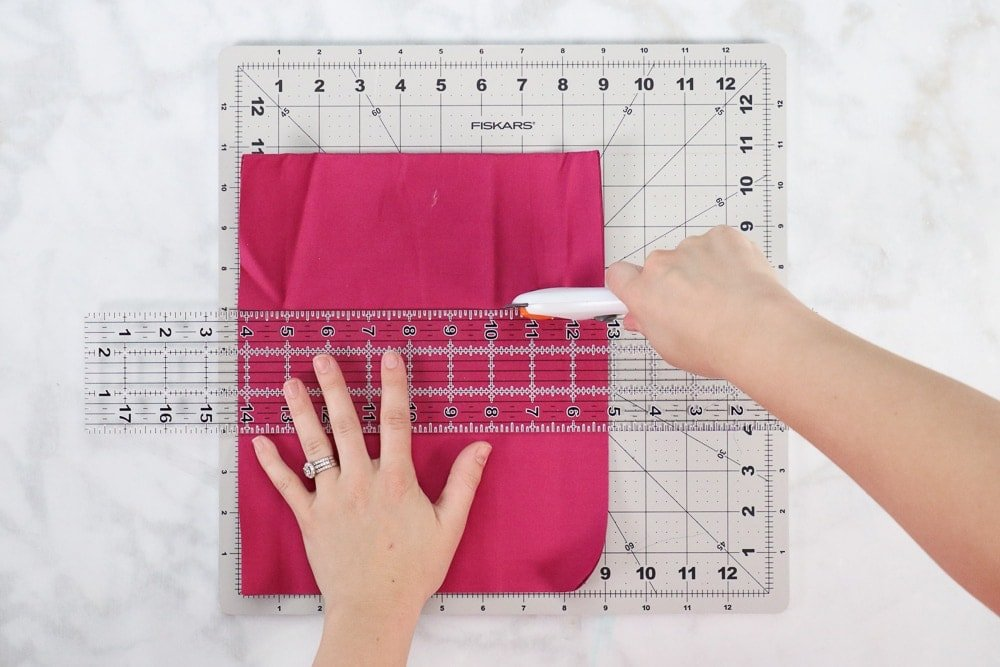 how to sew a surgical face mask, a tutorial featured by top US sewing blog, Sweet Red Poppy.