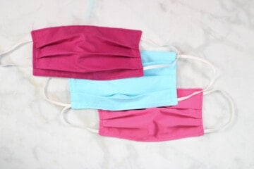 How to sew a surgical mask