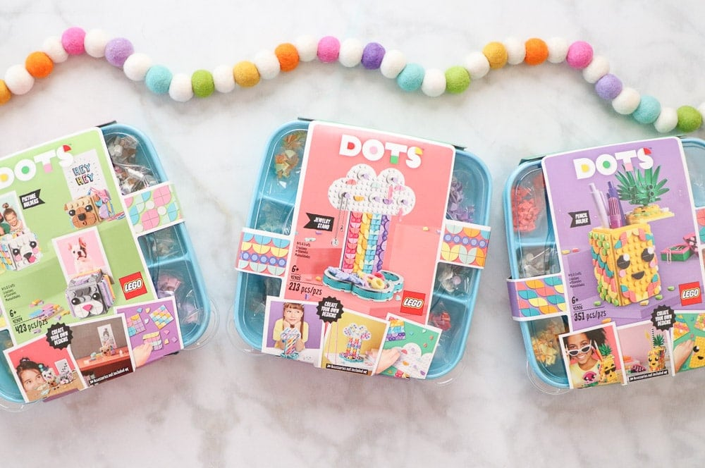 LEGO DOTS review featured by top US craft blog, Sweet Red Poppy.