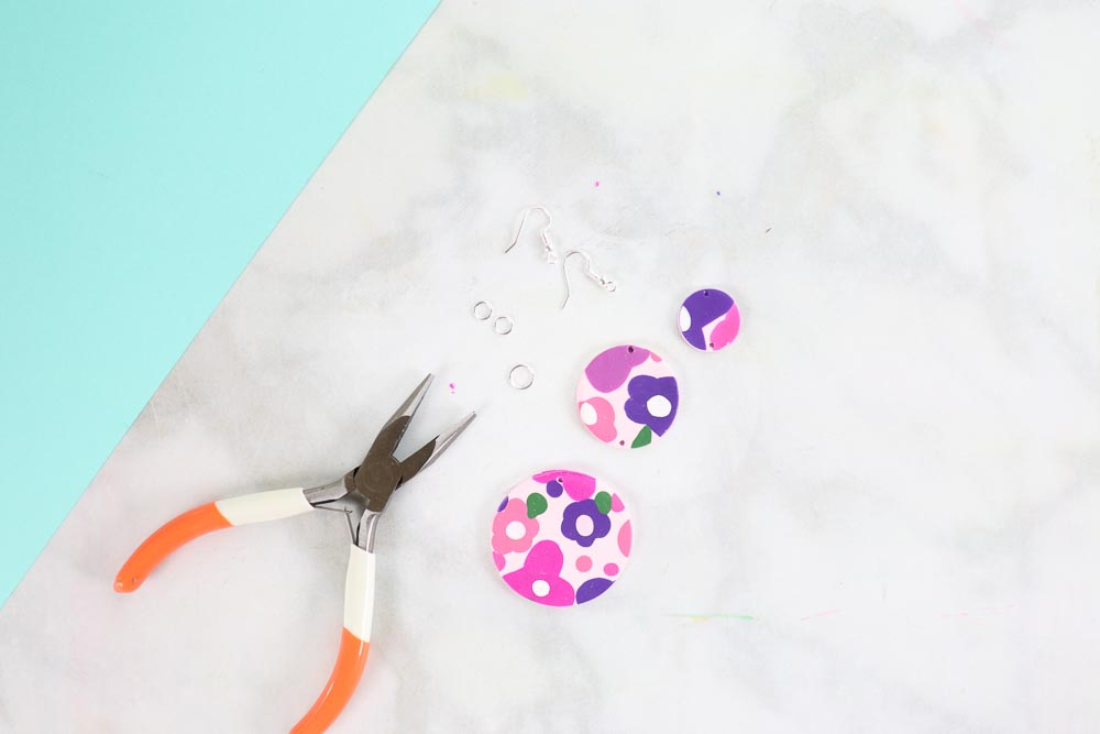 How to Make Clay Earrings: a Step by Step Tutorial featured by top Utah craft blog, Sweet Red Poppy.