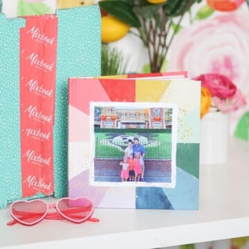 How to Create a Mixbook Photo Book, tutorial featured by top US craft blogger, Sweet Red Poppy.