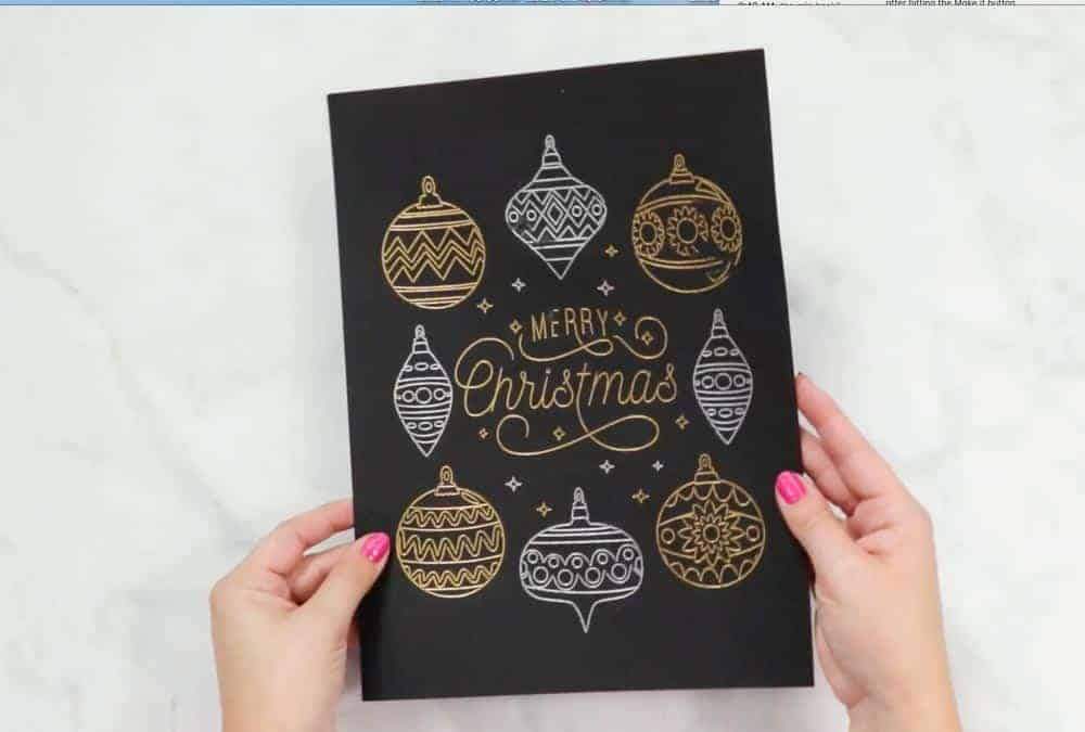 Cricut Foil Transfer Kit at JOANN's review by top US craft blogger, Sweet Red Poppy.