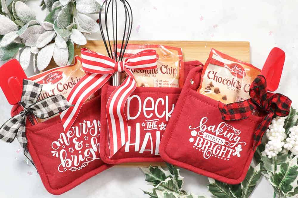 Holiday Personalized Pot Holders