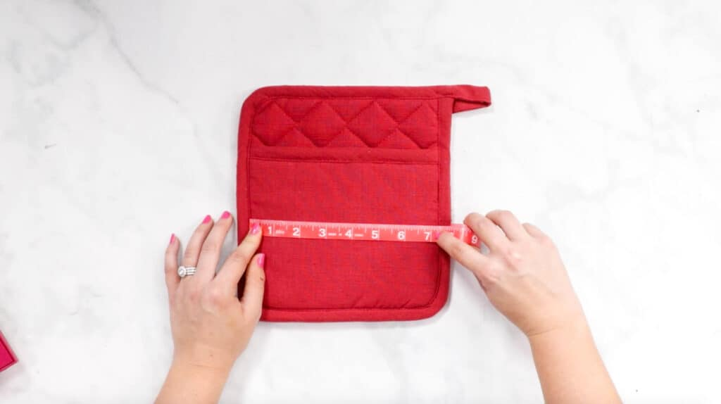 Pot Holder measurements
