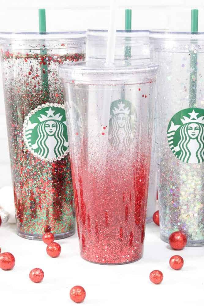 Starbucks Snow White Floating Glitter Tumbler