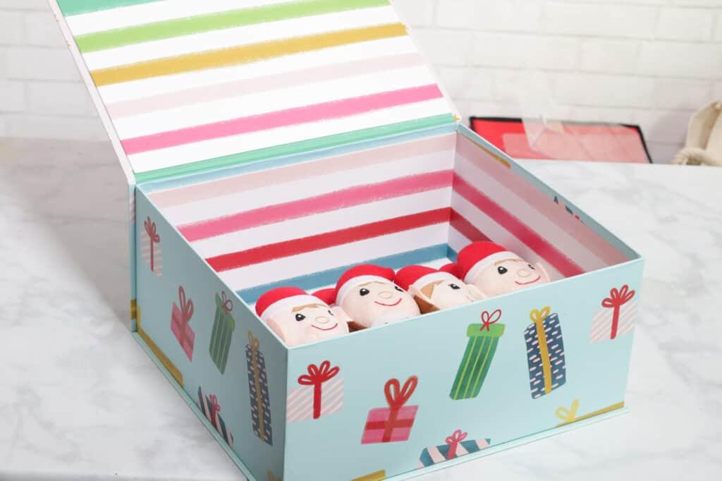 Joann Christmas Storage by popular US craft blog, Sweet Red Poppy: image of Joann flip top storage boxes.